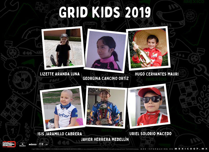 Grid kids GP Mexico 2019