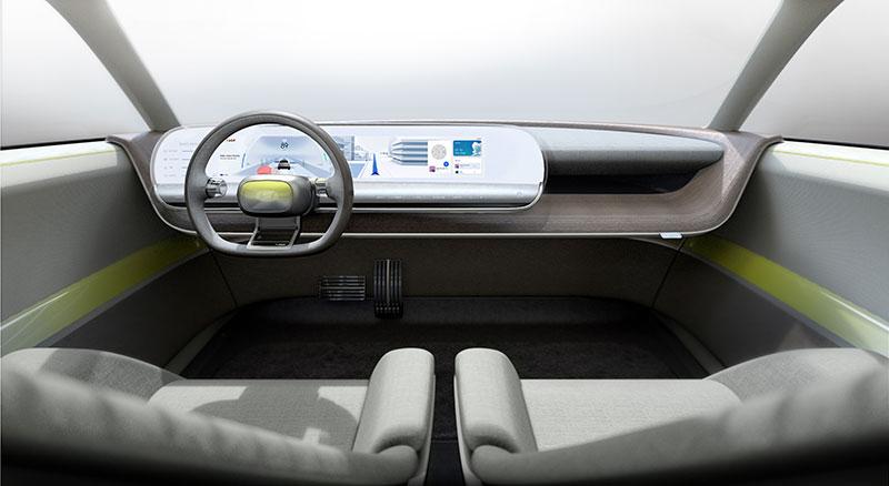 Hyundai 45 EV IAA 2019 interior