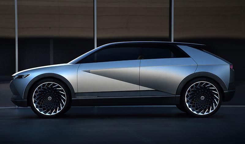 Hyundai 45 EV IAA 2019 lateral