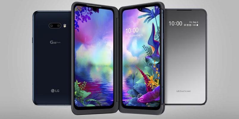 El nuevo LG G8X ThinQ con tres pantallas llegará muy pronto a México