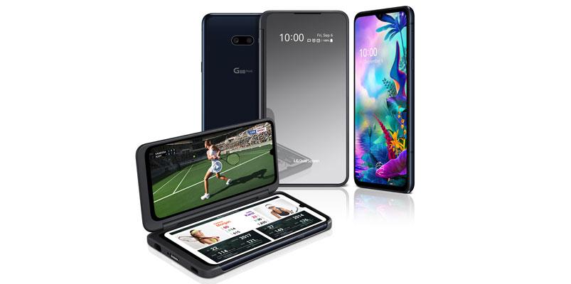 LG G8X ThinQ pantallas