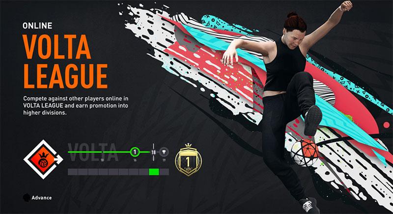 VOLTA FIFA 20 con logros