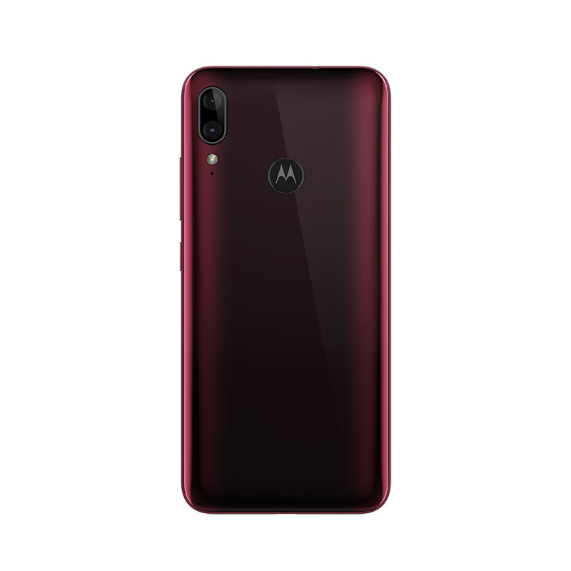 Moto e6 Plus Cranberry