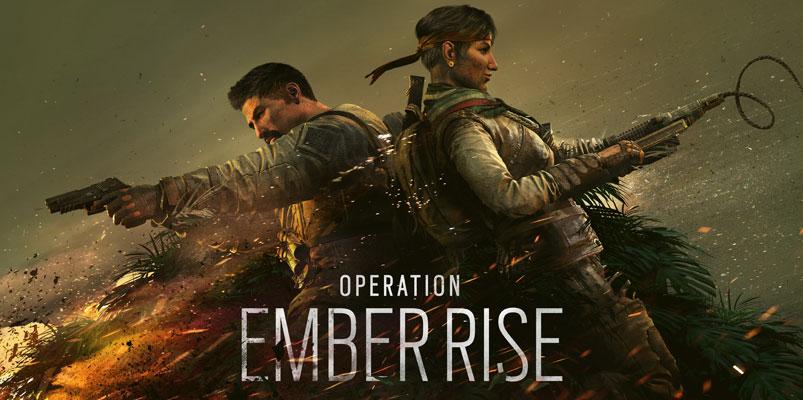 El contenido que Operation Ember Rise trae a Rainbow Six Siege