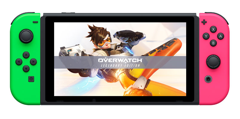 Overwatch Legendary Edition estará disponible para Nintendo Switch