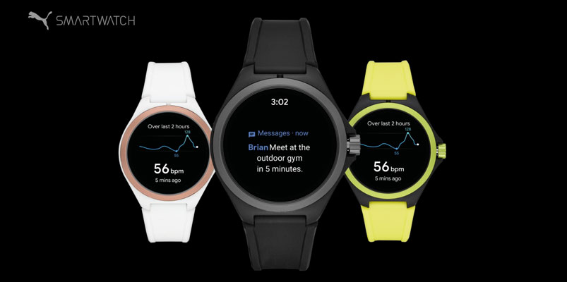 Puma presenta en IFA 2019 sui primer smartwatch con Android Wear OS
