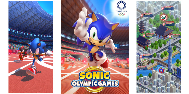 Sonic at the Olympic Games 2020 tráiler