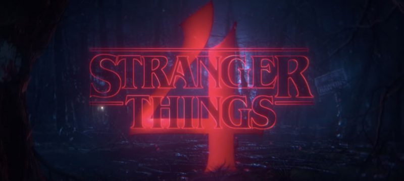 Stranger Things Temporada 4 logo