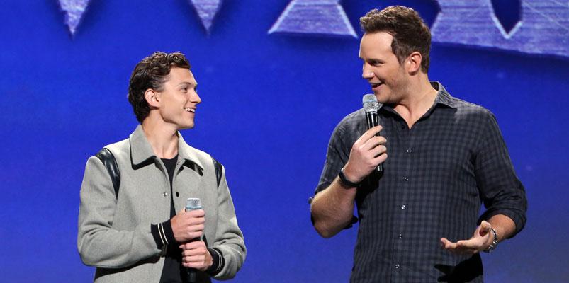 Tom Holland y Chris Pratt juntos una vez más, en Onward de Pixar