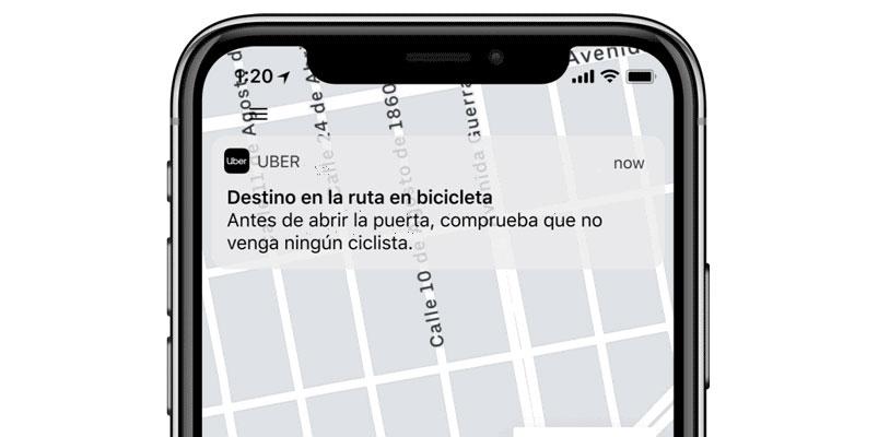 Uber nuevas opciones bicicletas