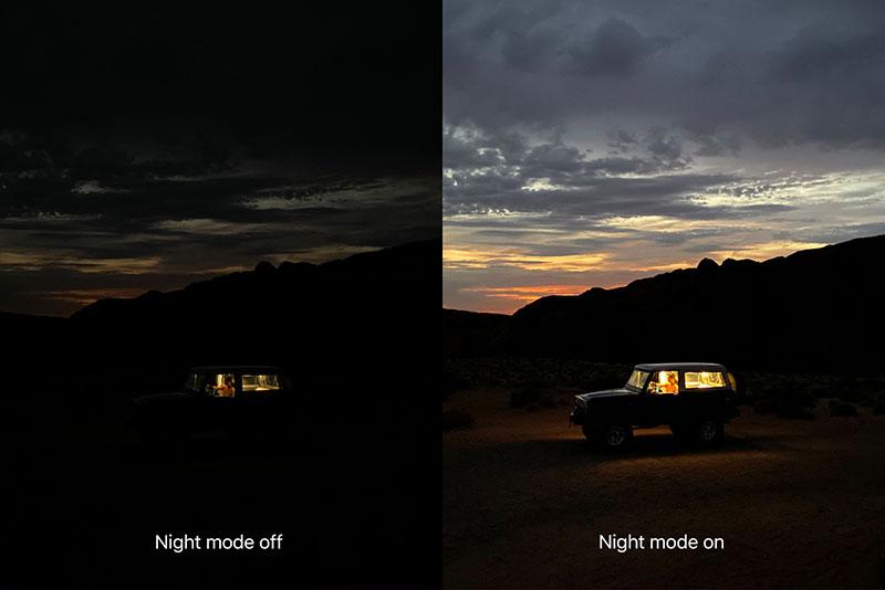 iPhone 11 Pro Max Modo noche