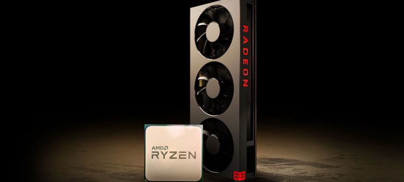 AMD Radeon AMD Ryzen juegos