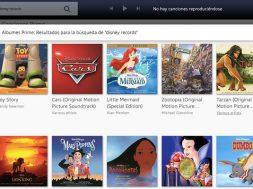 Amazon Prime Music Disney