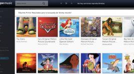 Los mejores temas y discos de Disney ahora en Amazon Prime Music
