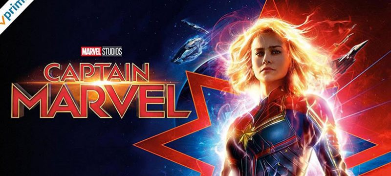 Amazon Prime Video Captain Marvel