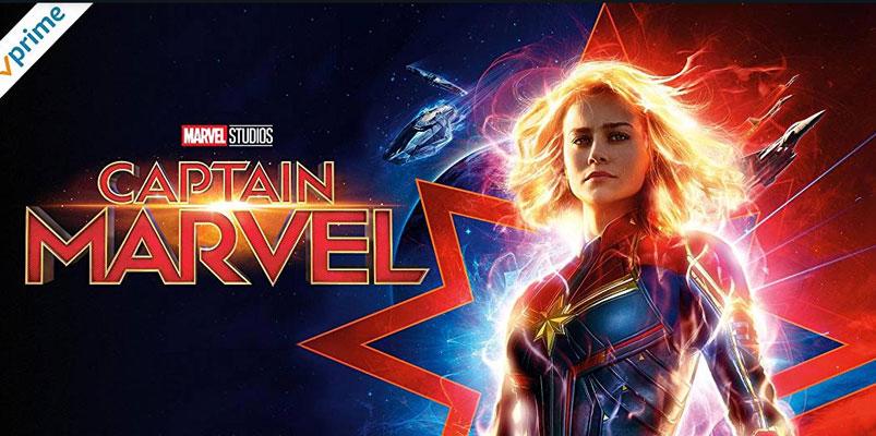 Captain Marvel disponible en Amazon Prime Video, pronto llegará Endgame