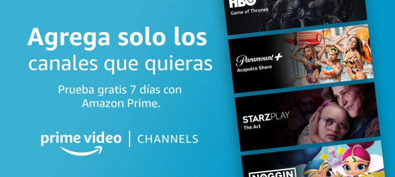 Amazon Prime Video Channels Mexico
