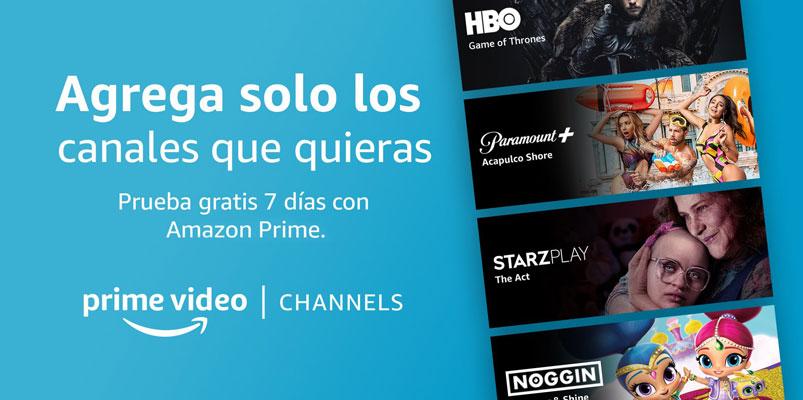 Prime Video Channels en México con contenido de HBO, Paramount+ y más
