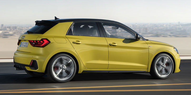Audi A1 Sportback lateral