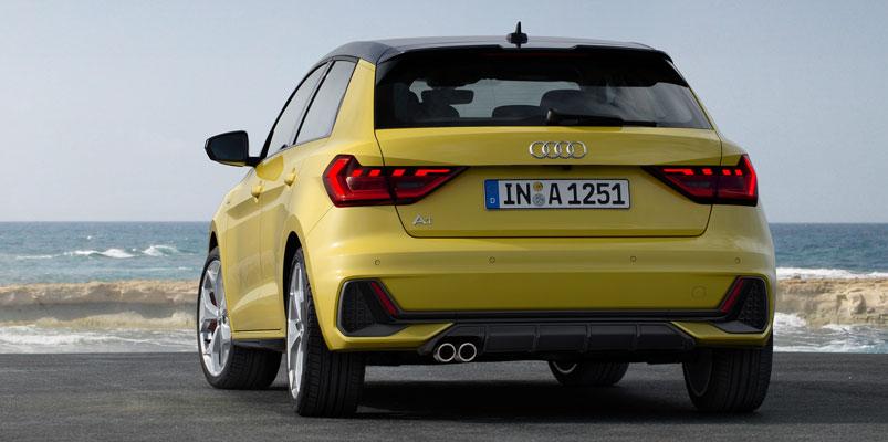 Audi A1 Sportback trasera