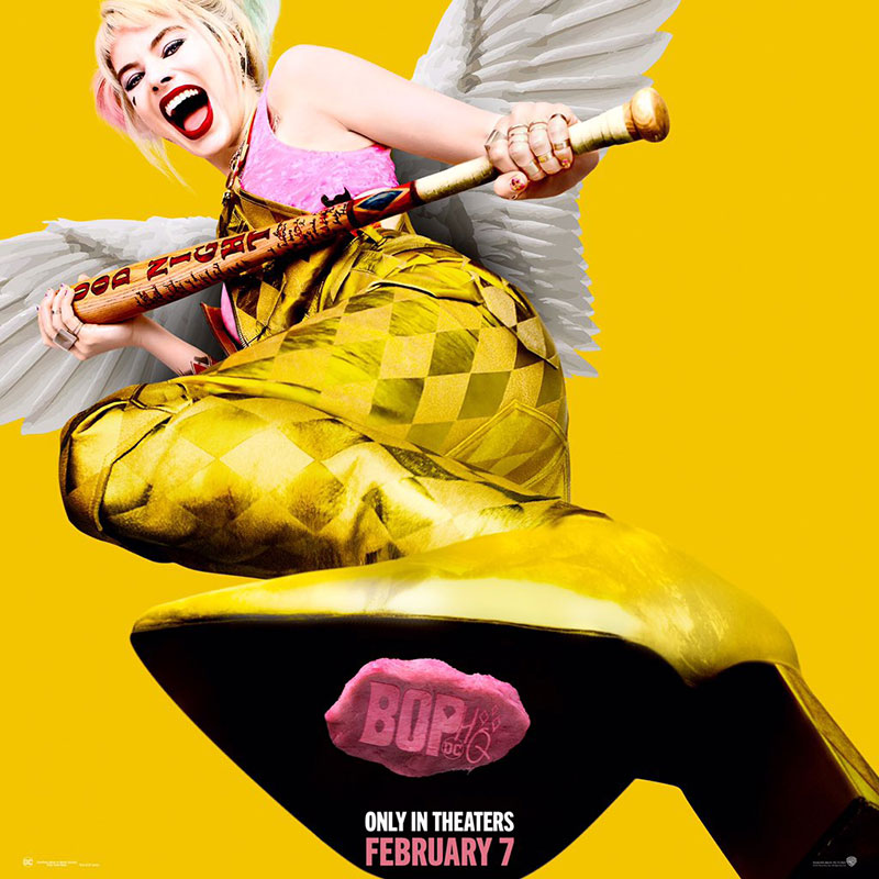 Birds of Prey poster chicle
