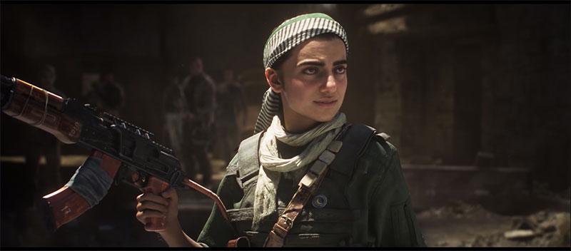 Call of Duty Modern Warfare Farah Karim