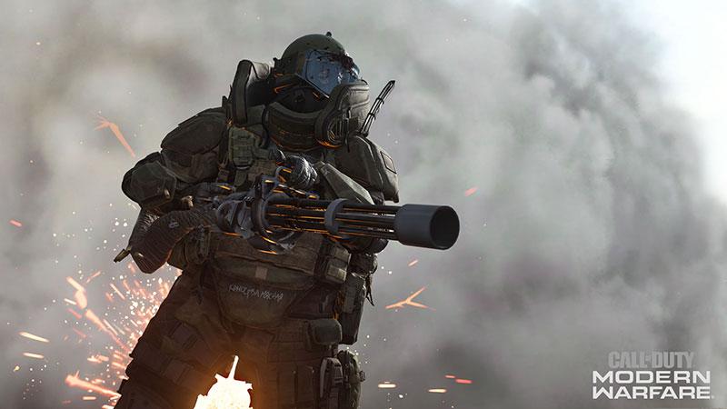 Call of Duty Modern Warfare NVIDIA