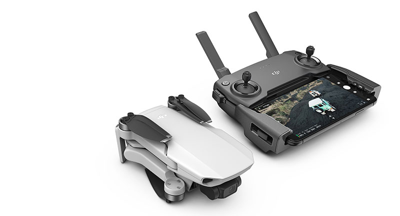 DJI Mavic Mini control