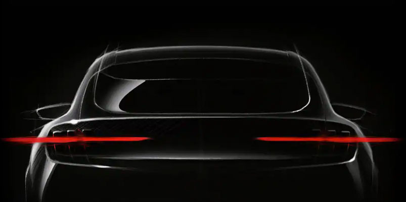 Ford SUV electrica teaser