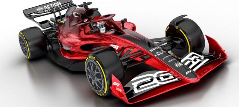 Formula 1 monoplaza 2021