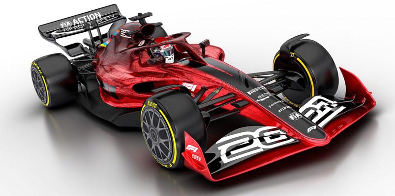 Así son los nuevos monoplazas de la Formula 1 para el 2021