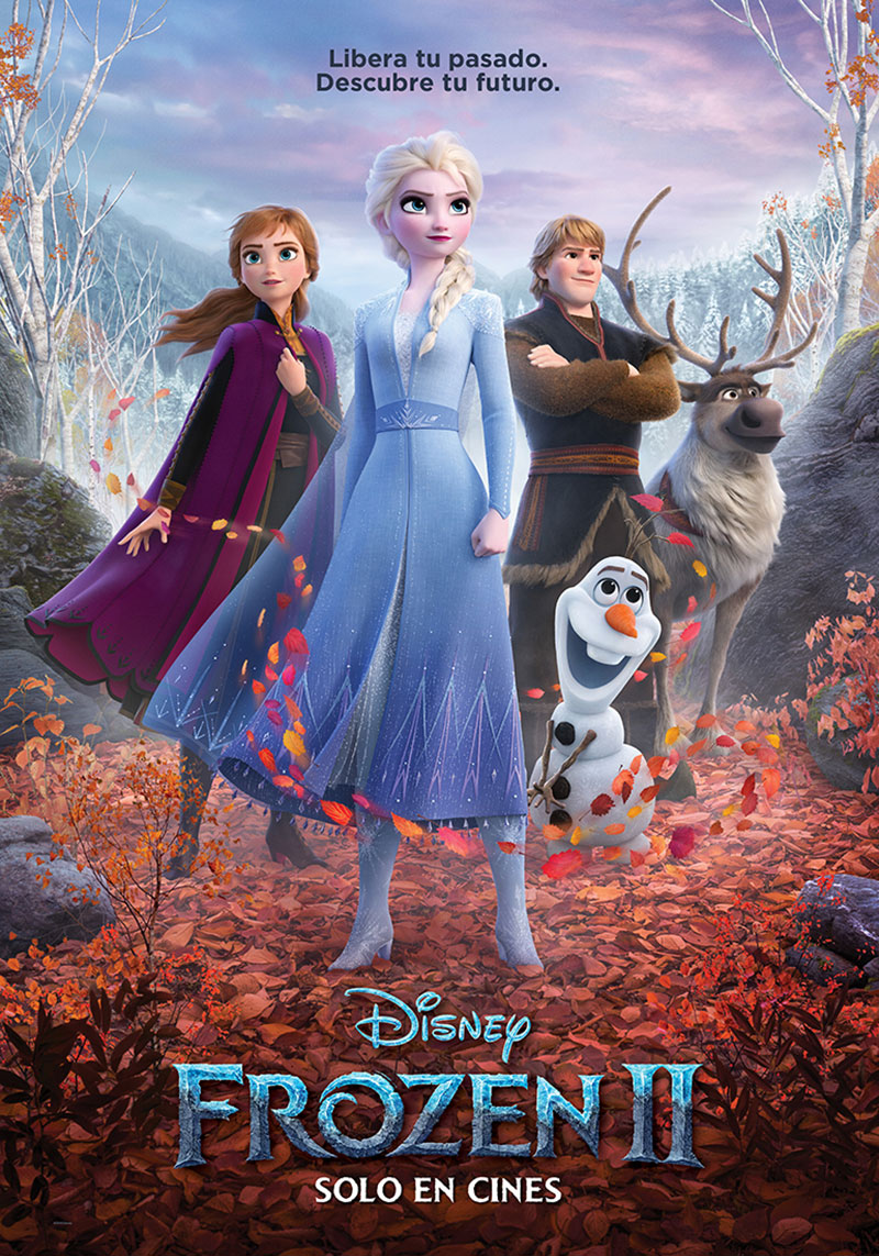 Frozen 2 poster oficial