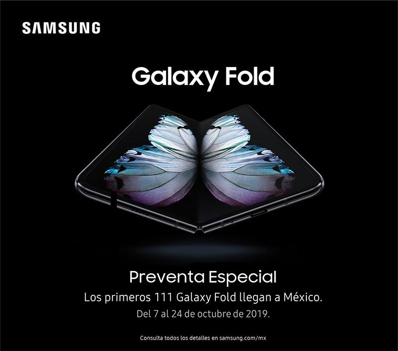 Galaxy Fold Preventa Mexico