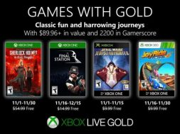 Games with Gold noviembre 2019