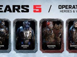 Gears 5 nuevos personajes