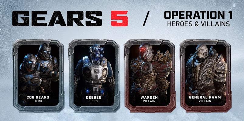 Nuevos personajes llegan al campo de batalla de Gears 5