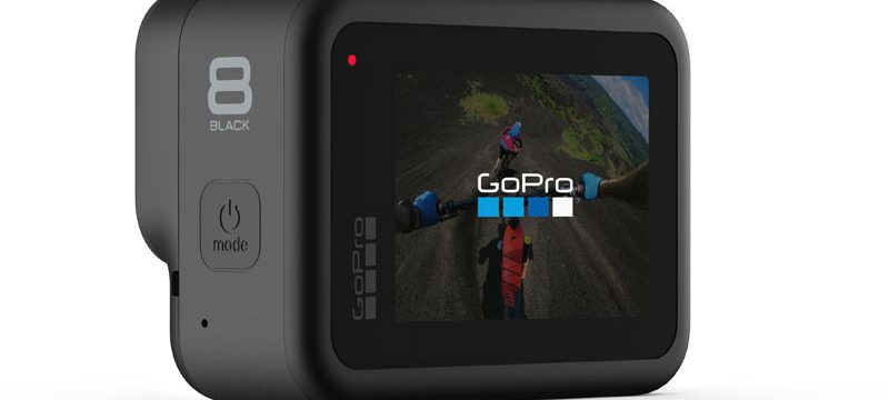 GoPro HERO 8 Black pantalla