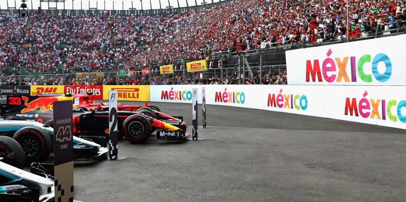 Todo el Gran Premio de México 2019 se transmitirá por Twitch
