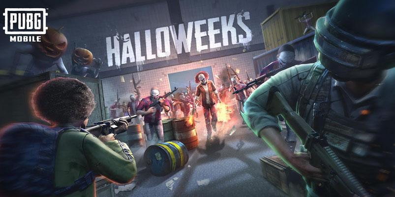 Modo Halloweeks y más contenido ya está disponible en PUBG Mobile