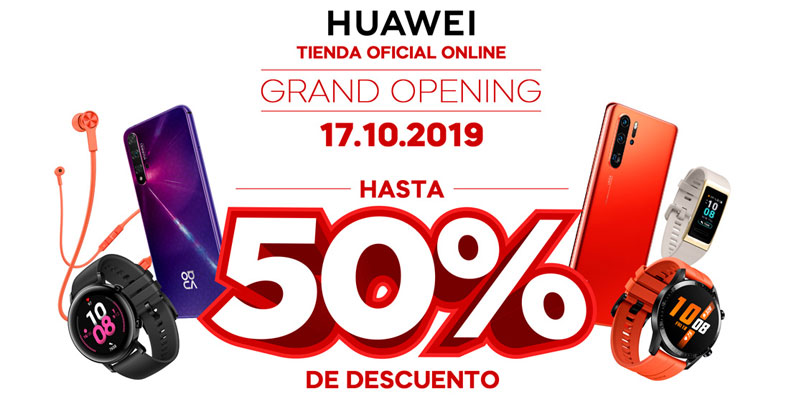 Huawei estrena tienda en línea en México con buenos descuentos