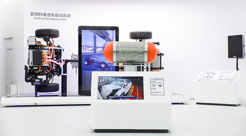 Hyundai FCEV mecanismo