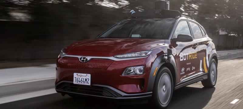 Hyundai KONA autonomo