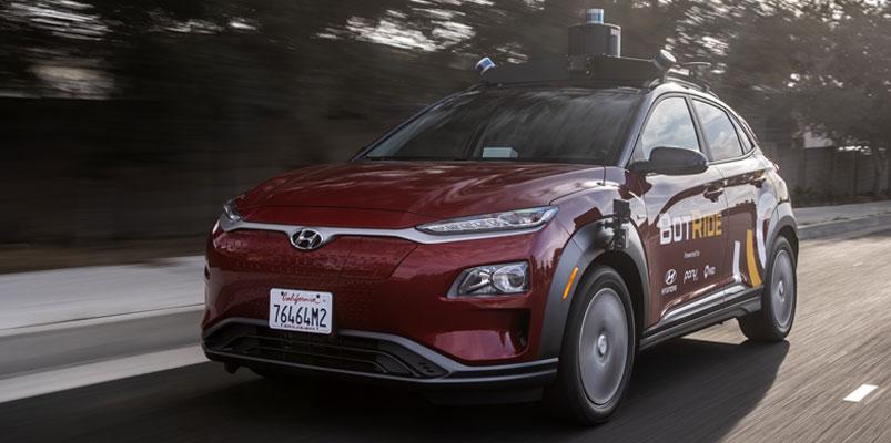 Los vehículos autónomos de Hyundai llegan a Irvine, California