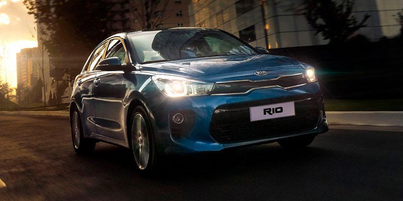 KIA Rio fue el vehículo KIA más vendido en septiembre 2019