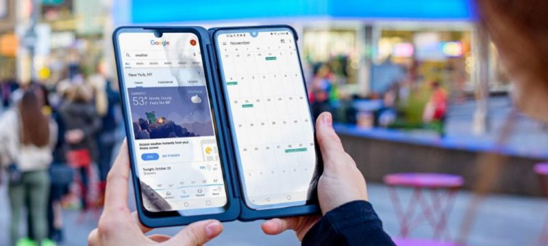LG G8XThinQ con LG Dual Screen