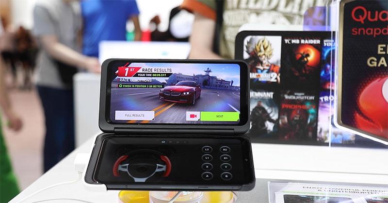 LG G8XThinQ con LG Dual Screen juegos