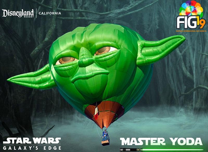 Maestro Yoda globo FIG
