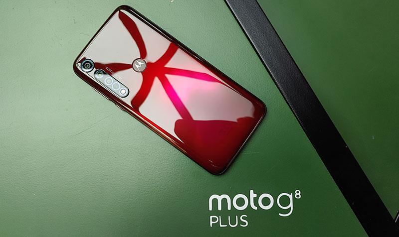 Moto g8 plus presentacion