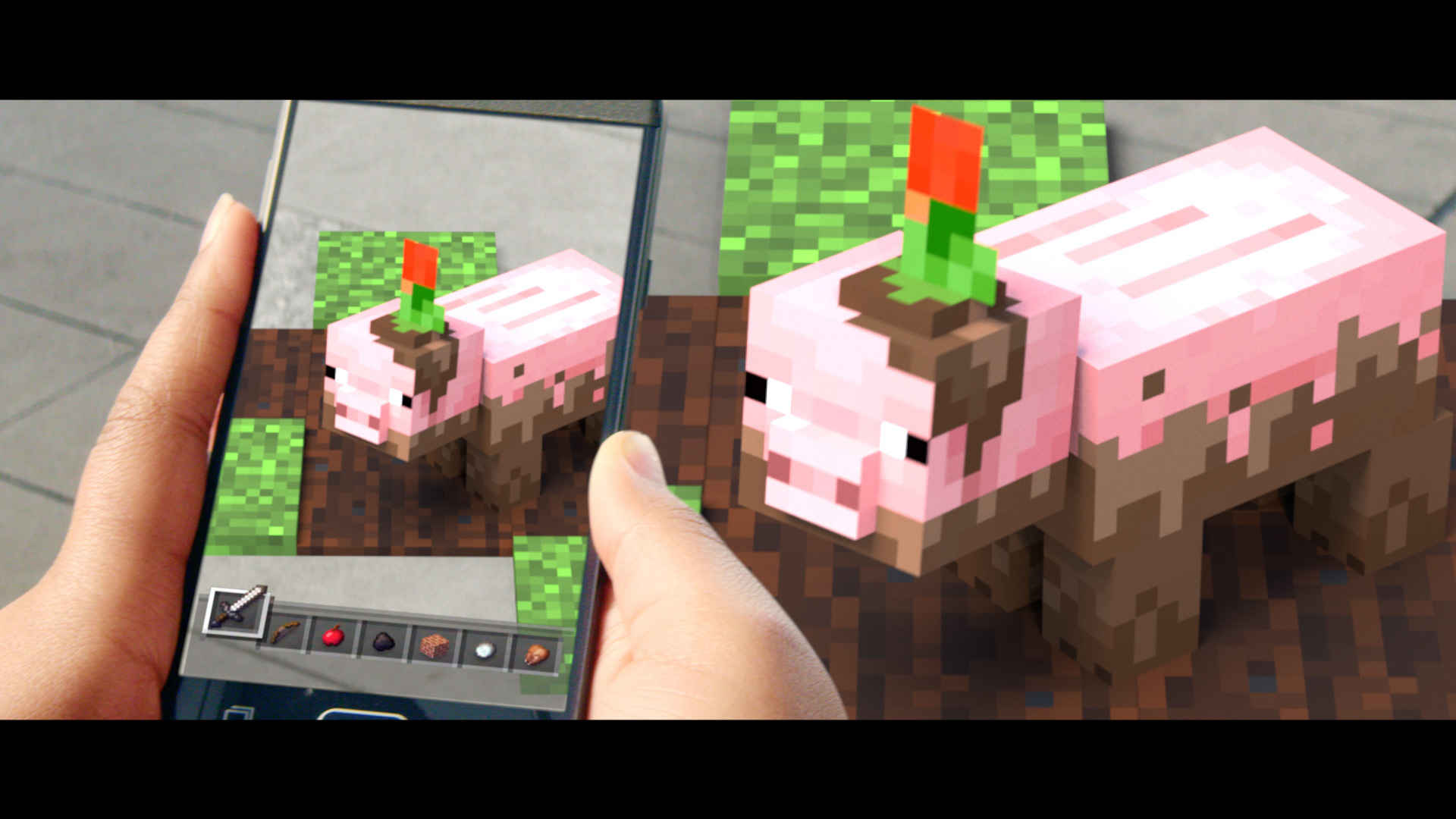 Muddy Pig Minecraft Earth