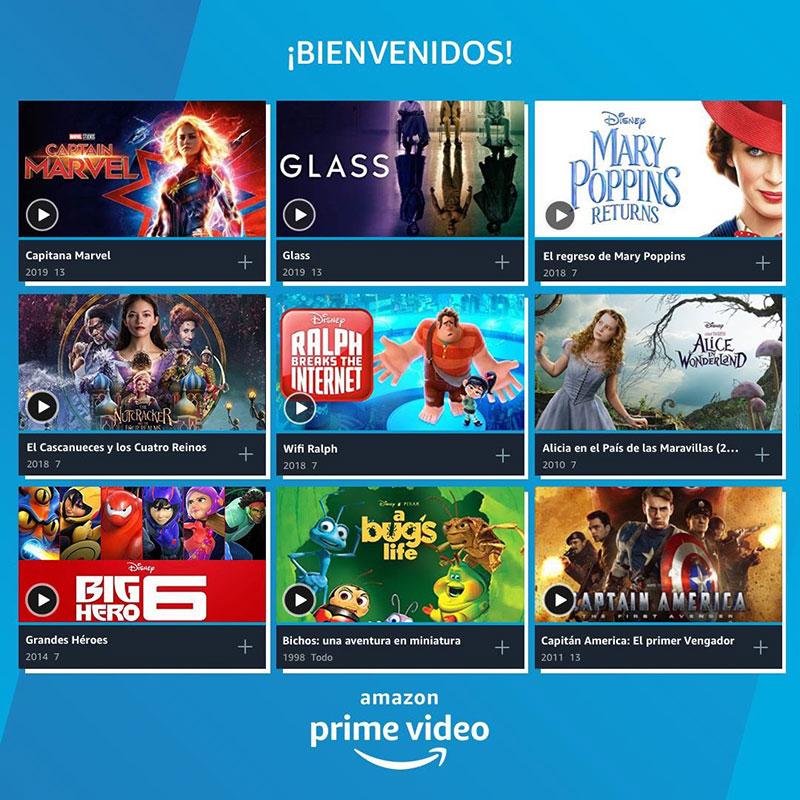 Prime Video Disney 2019 2020